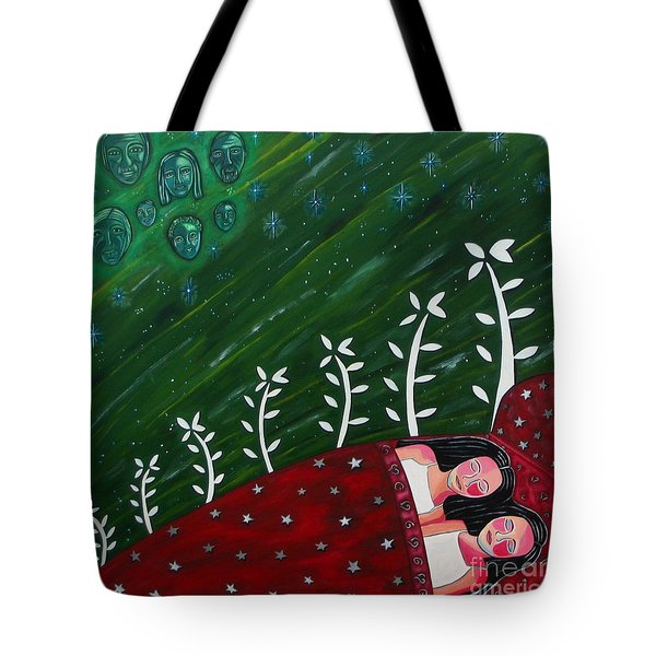 All Sown Up Tote Bag by Sandra Marie Adams