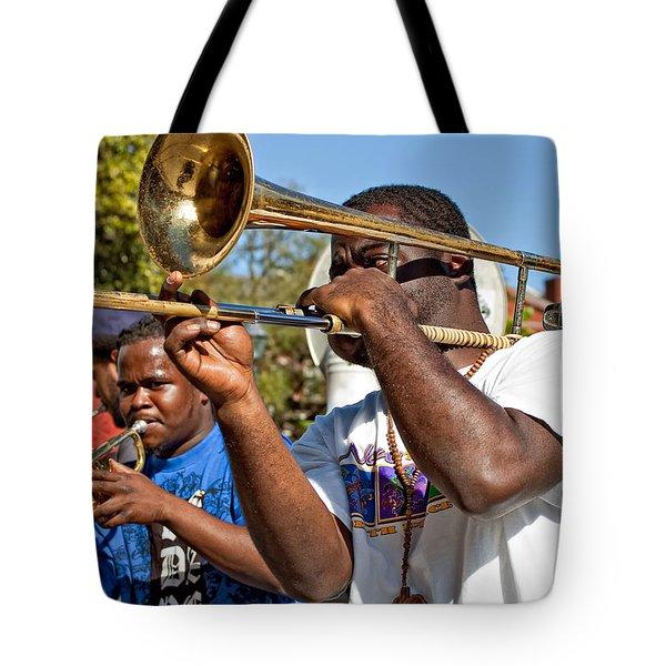 All That Jazz Tote Bag by Steve Harrington