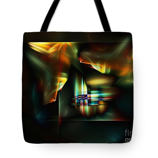 All The World's A Stage Tote Bag by Klara Acel