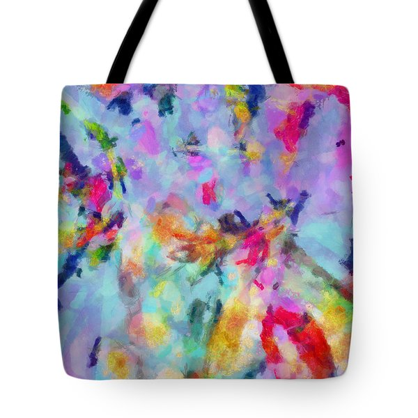Tote Bag featuring the painting All Those Good Things by Joe Misrasi