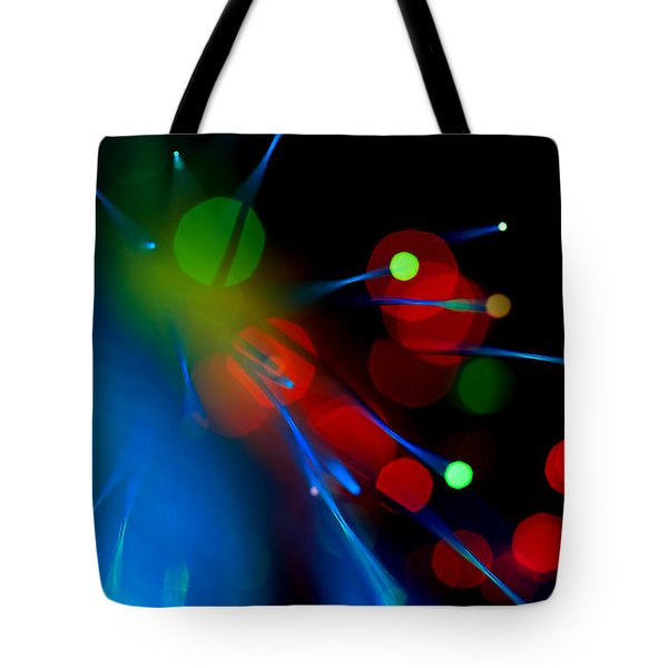 All Through The Night Tote Bag by Dazzle Zazz