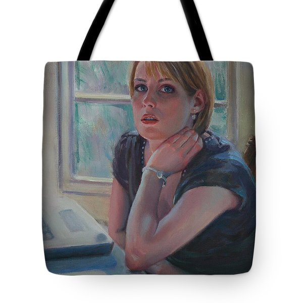 All Twittered Out Tote Bag by Sarah Parks
