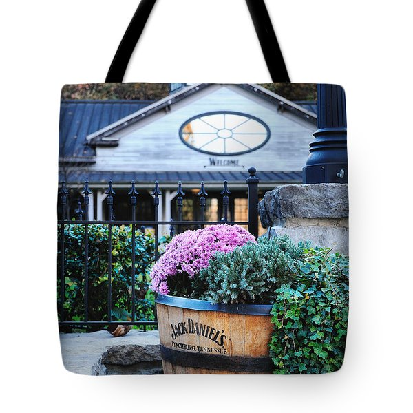 All Visitors Welcome Tote Bag