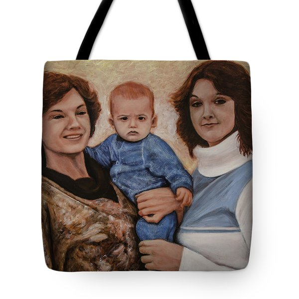 All We Know Of Heaven Tote Bag