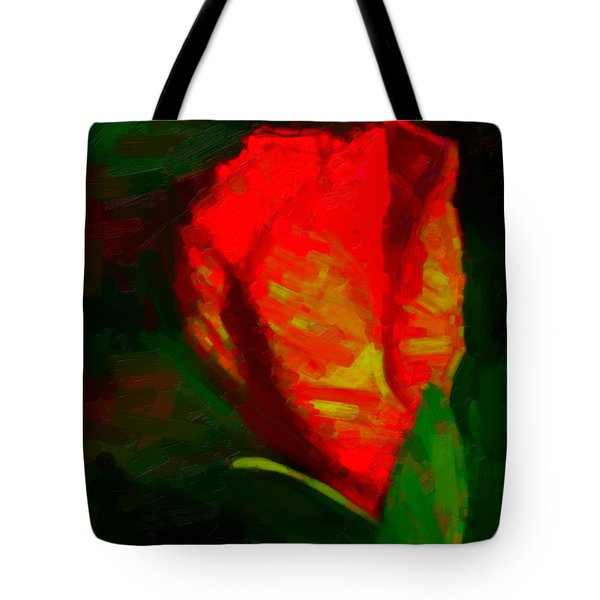 Tote Bag featuring the painting All Went Wrong by Joe Misrasi