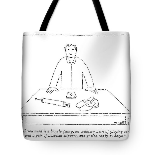 All You Need Is A Bicycle Pump Tote Bag