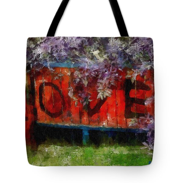 All You Need Is... Tote Bag by RC deWinter