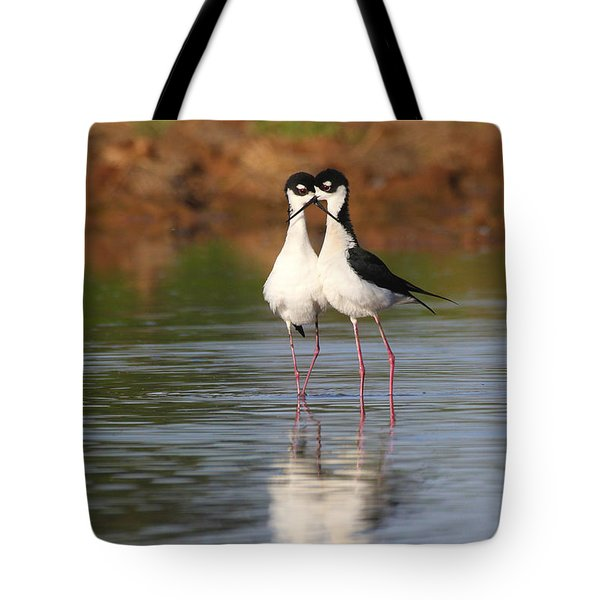 Tote Bag featuring the photograph All You Need Is Stilt Love by Ruth Jolly