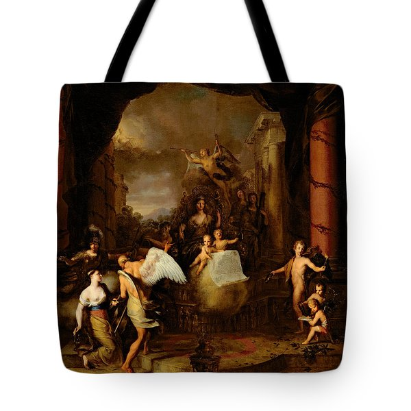 Allegory Of The City Of Amsterdam Tote Bag