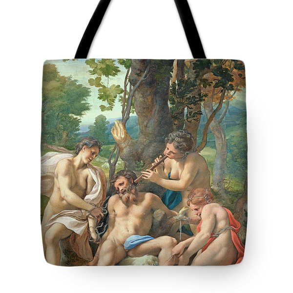 Allegory Of The Vices Tote Bag