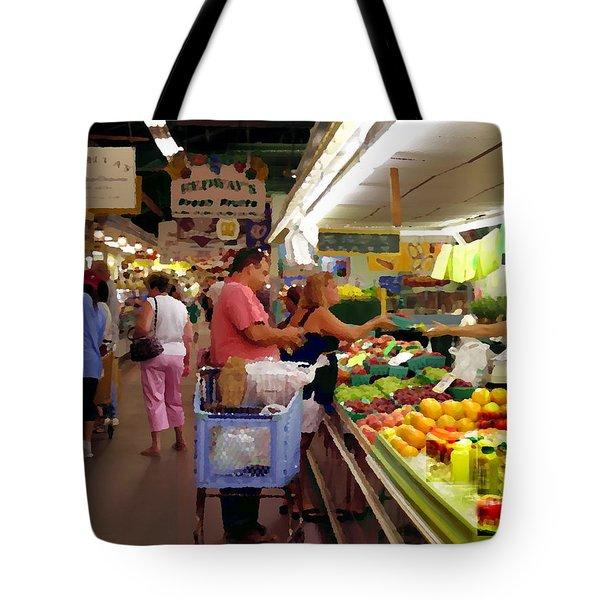 Allentown Pa Farmers Market Tote Bag