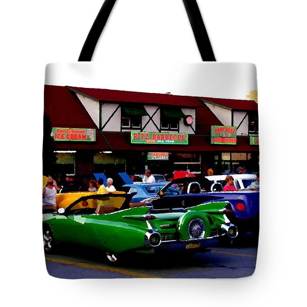 Allentown Pa Meetin' At The Ritz Tote Bag by Jacqueline M Lewis