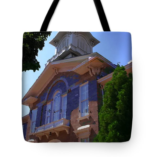 Allentown Pa Old Lehigh County Court House Tote Bag