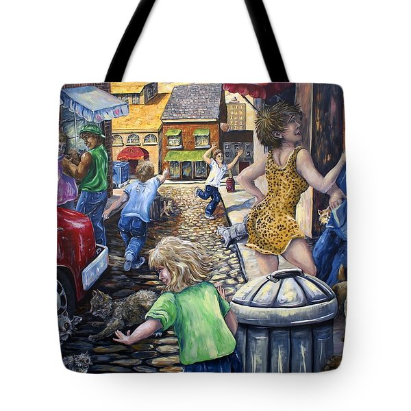 Alley Catz Tote Bag