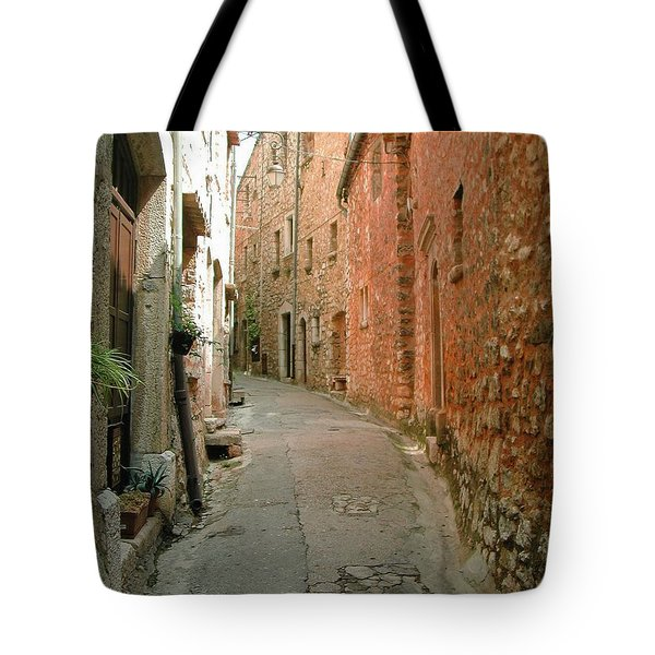 Tote Bag featuring the photograph Alley In Tourrette-sur-loup by Susie Rieple