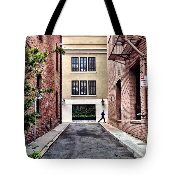 Alley Tote Bag