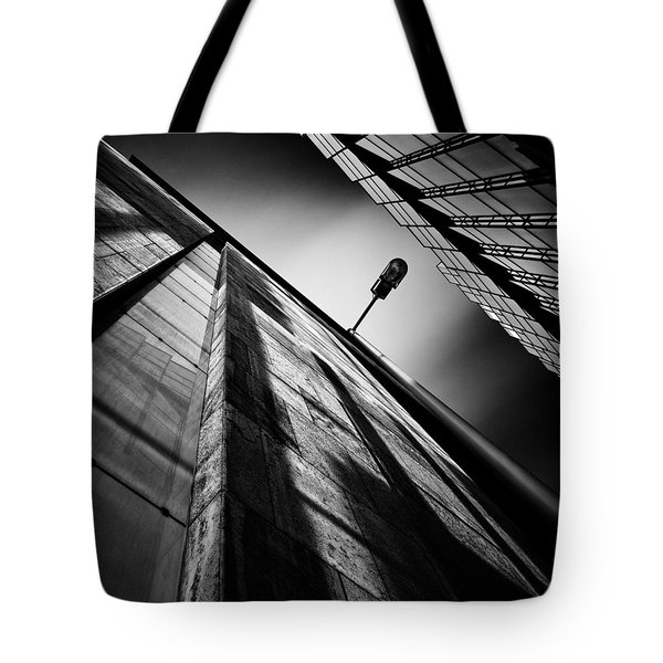 Alley Lamp Tote Bag by Dave Bowman