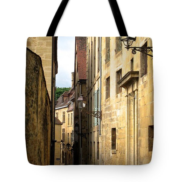 Alleys Of Sarlat Tote Bag by Suzanne Oesterling