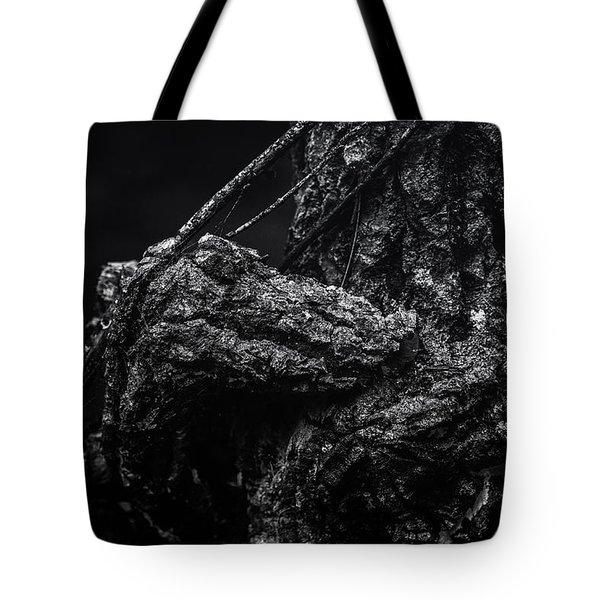 Alligator Tree Tote Bag