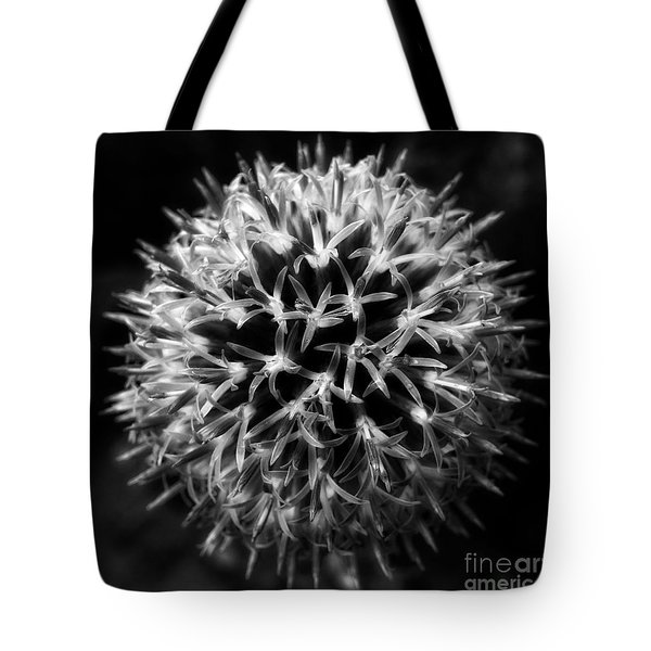 Tote Bag featuring the photograph Allium by Inge Riis McDonald