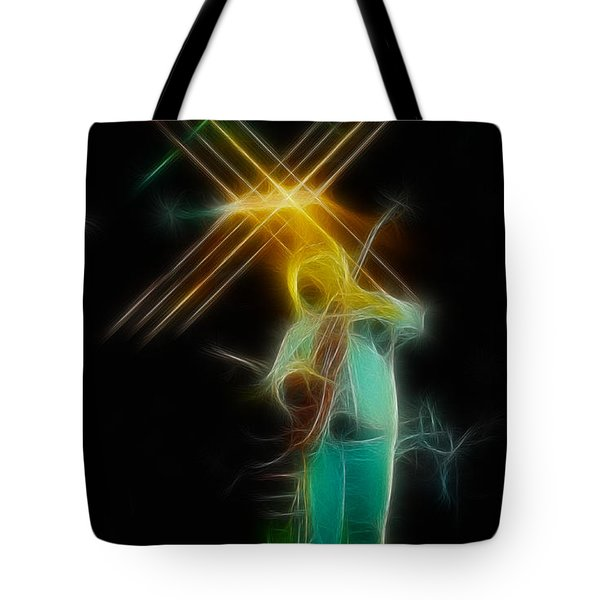Allman-dickie-95-ga14a-fractal Tote Bag by Gary Gingrich Galleries