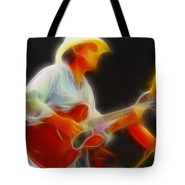 Allman-dickie-95-gc2-fractal Tote Bag by Gary Gingrich Galleries