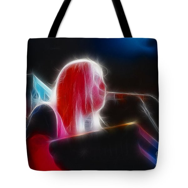 Allman-greg-95-gb9-fractal Tote Bag by Gary Gingrich Galleries
