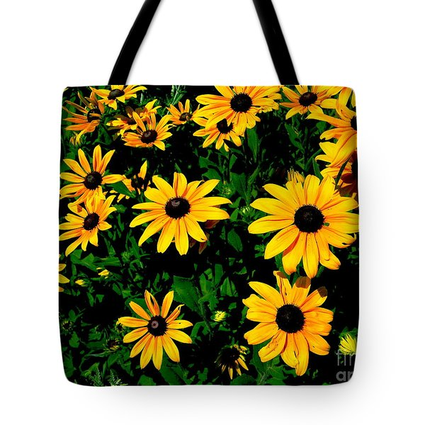 Sunflower Allure Tote Bag