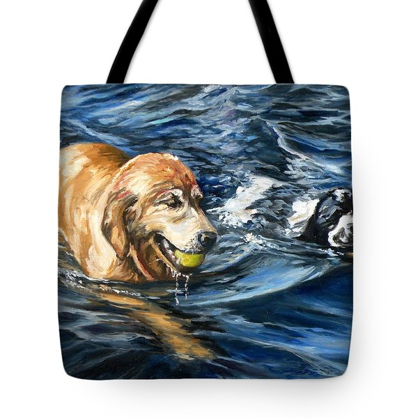 Ally And Smitty Tote Bag by Eileen Patten Oliver