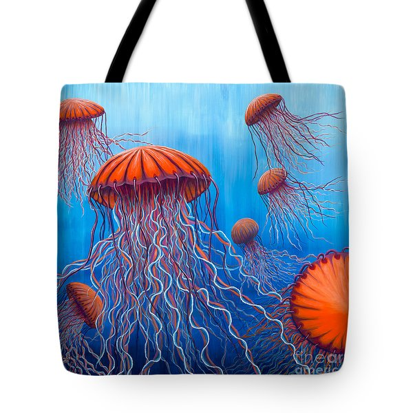 Ally's Orange Jellies Tote Bag