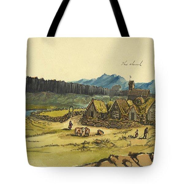 Almanna Gorge Circa 1862 Tote Bag by Aged Pixel