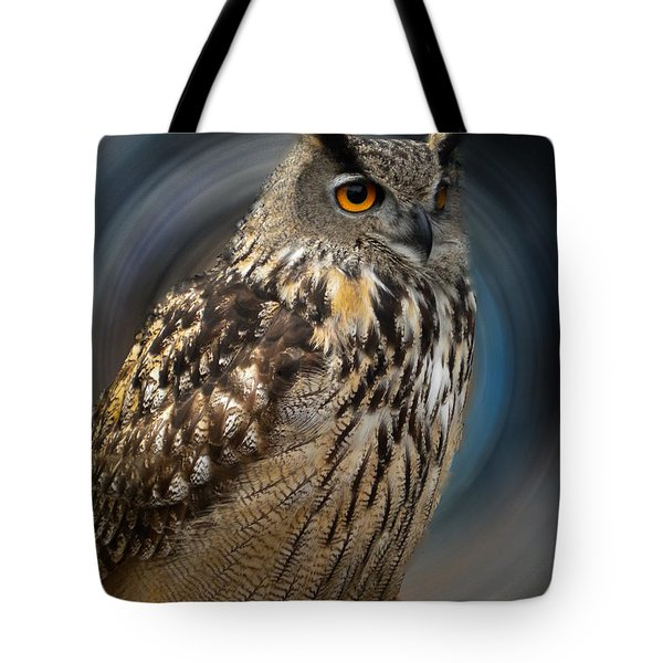 Almeria Wise Owl Living In Spain  Tote Bag