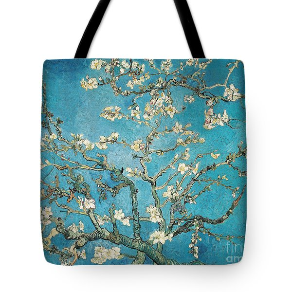 Almond Branches In Bloom Tote Bag