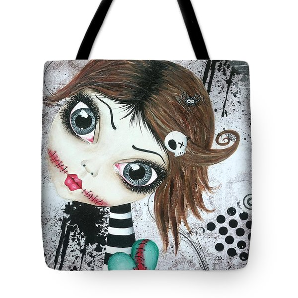Almost A Ghost Tote Bag by Oddball Art Co by Lizzy Love