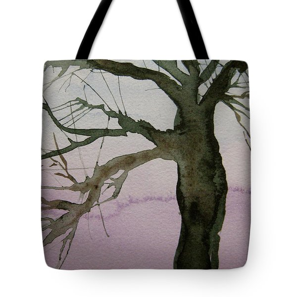 Tote Bag featuring the painting Almost Spring by Beverley Harper Tinsley