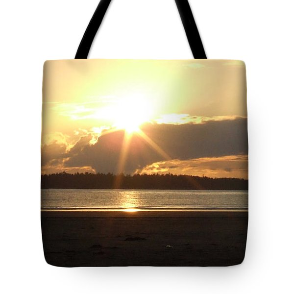Almost Sundown Tote Bag