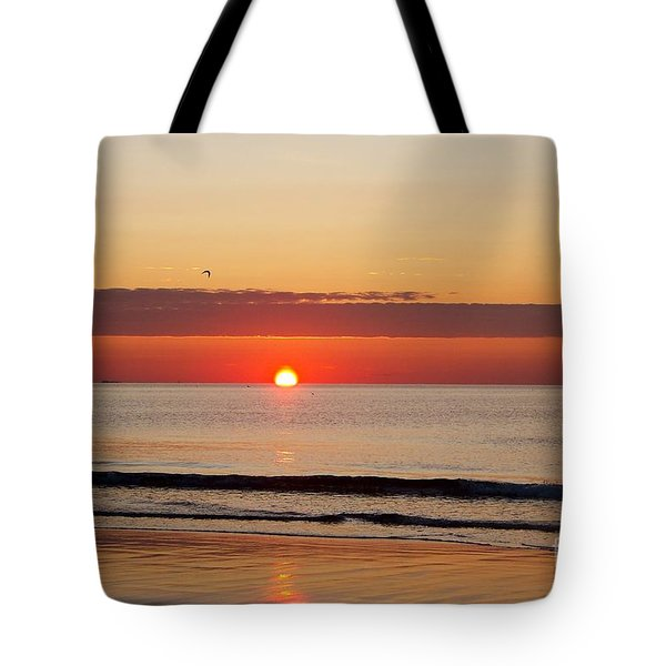 Almost Up Tote Bag by Eunice Miller