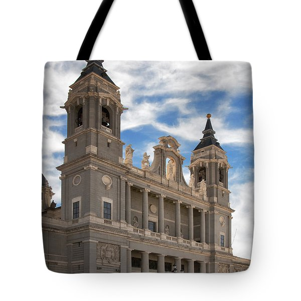 Almudena Cathedral Tote Bag by Joan Carroll
