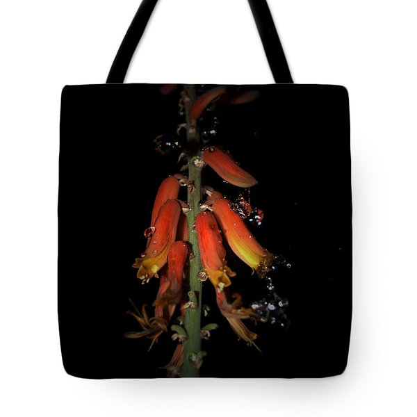 Tote Bag featuring the photograph Aloe Flower by Leticia Latocki