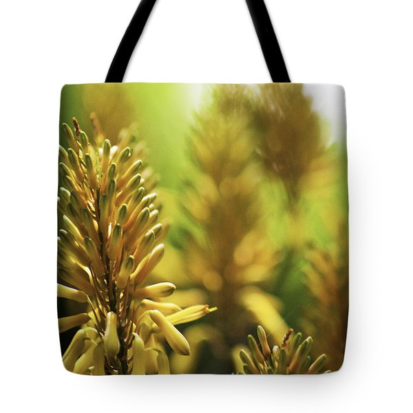 Tote Bag featuring the photograph Aloe 'kujo' Plant by Richard J Thompson