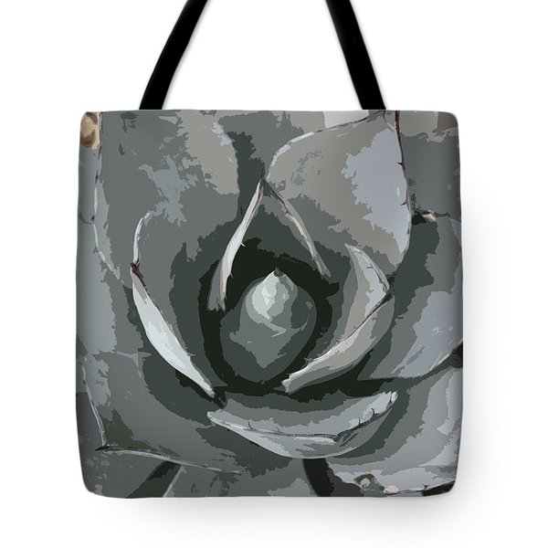 Aloe Vera Abstract Tote Bag by Christiane Schulze Art And Photography