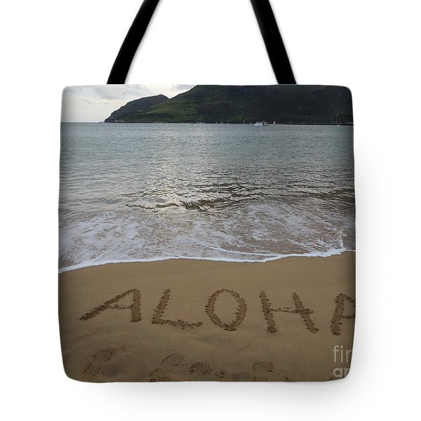 Aloha On The Beach Tote Bag
