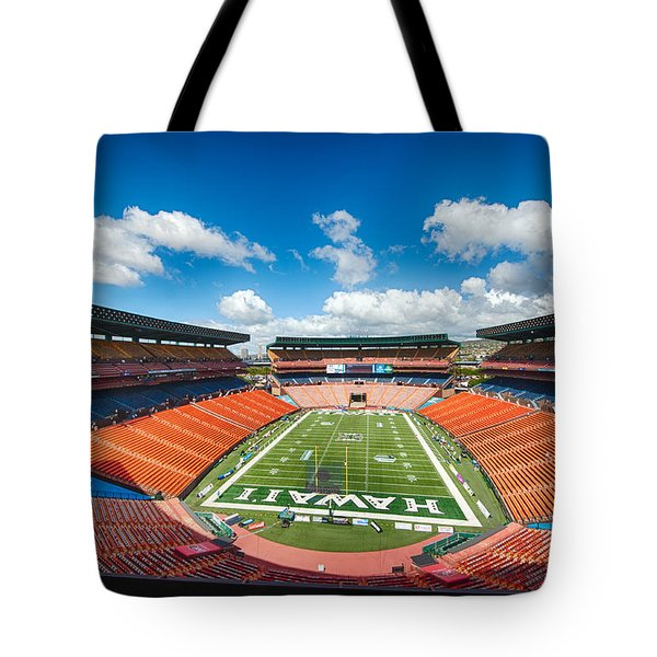 Aloha Stadium Tote Bag
