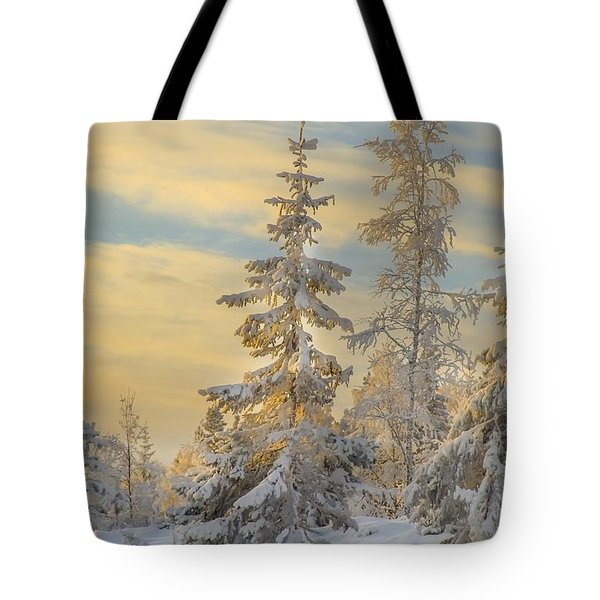 Alone But Strong Tote Bag by Rose-Maries Pictures