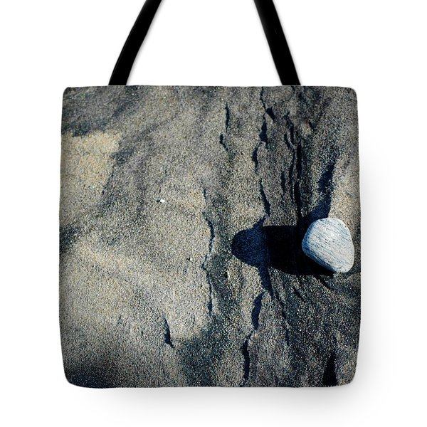 Tote Bag featuring the photograph Alone by Christiane Hellner-OBrien