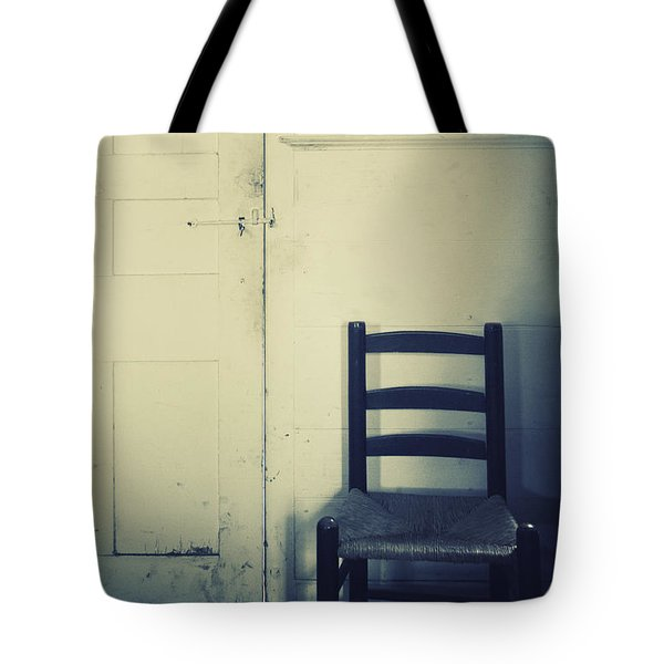 Alone In A Room Tote Bag by Margie Hurwich