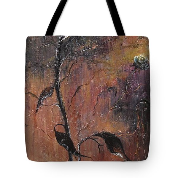 Alone In The Night  Tote Bag