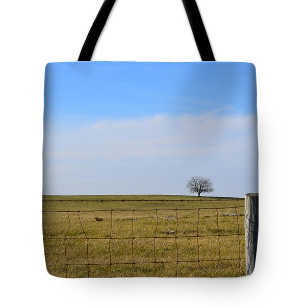 Tote Bag featuring the photograph Alone Or Standing Out by Cathy Shiflett