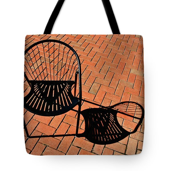 Tote Bag featuring the photograph Alone Together by Gary Slawsky