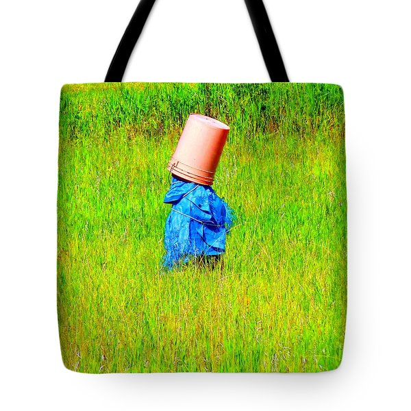 Alone With My Thoughts Tote Bag by Newel Hunter